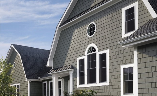 Beautiful House with fiber cement siding