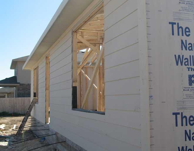 House under contstruction